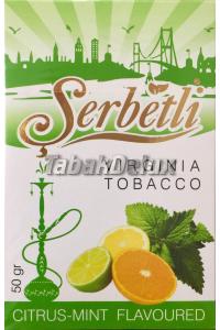 Serbetli Citrus Mint (Цитрус Мята) 50 грамм
