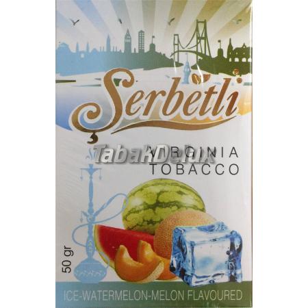 Serbetli Ice Watermelon Melon (Лед Арбуз Дыня) 50 грамм