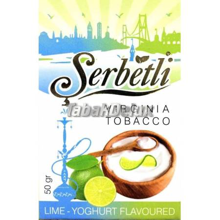 Serbetli Lime Yoghurt (Лаймовый Йогурт) 50 грамм