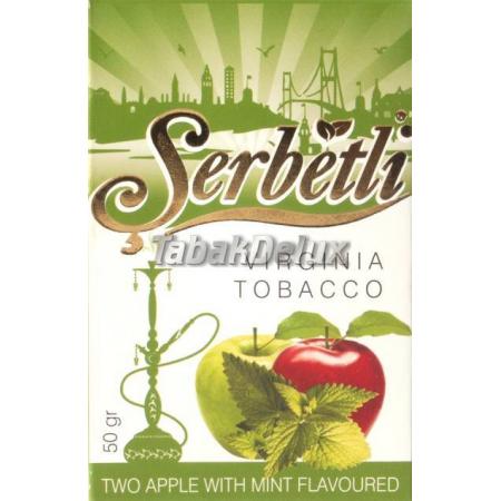 Serbetli Two Apple Mint (Два Яблока Мята) 50 грамм