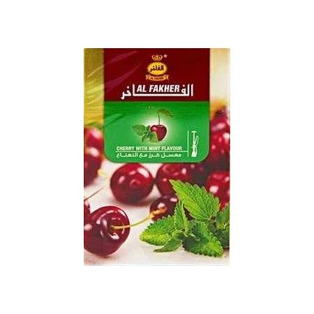Табак, заправка для кальянаAl Fakher Cherry Mint (Вишня Мята) 50 грамм