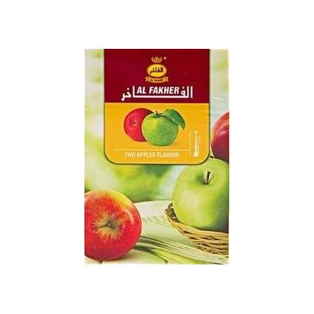 Al Fakher Two Apple (Двойное Яблоко) 50 грамм