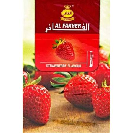 Табак, заправка для кальяна Al Fakher Strawberry (Клубника) 50 грамм