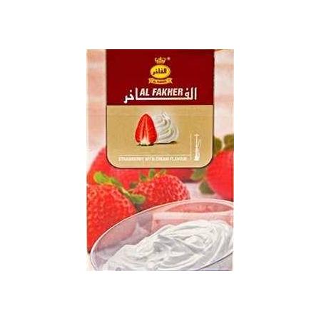 Табак, заправка для кальяна Al Fakher Strawberry Cream (Клубника Сливки) 50 грамм