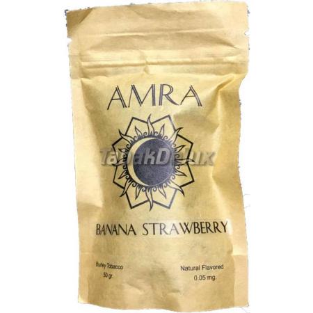 Табак Amra Moon Banana Strawberry (Банан Клубника) 50 грамм