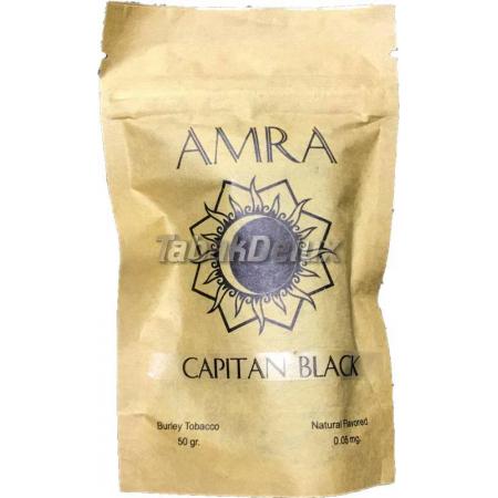 Табак Amra Moon Capitan Black (Капитан Блэк) 50 грамм