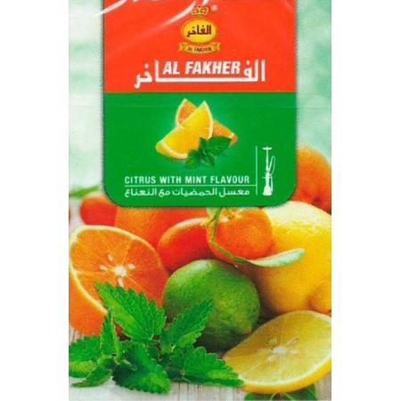 Табак, заправка для кальяна Al Fakher Citrus mint (Цитрус мята) 50 грамм