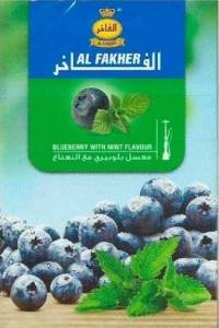 Табак, заправка для кальяна Al Fakher Blueberry Mint (Черника Мята) 50 грамм