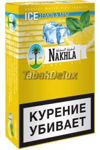 Nakhla Classic Ice Lemon Mint (Лёд Лимон Мята) 50 грамм