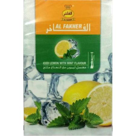 Табак, заправка для кальяна Al Fakher Ice Lemon Mint (Лёд Лимон Мята) 50 грамм