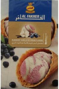 Табак, заправка для кальяна Al Fakher Blueberry vanilla ice cream (Чернично-Ванильное Мороженое) 50 грамм