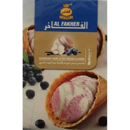 Al Fakher Blueberry vanilla ice cream (Чернично-Ванильное Мороженое) 50 грамм