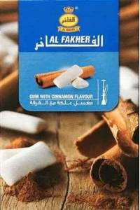 Табак, заправка для кальяна Al Fakher Gum Cinnamon (Жвачка Корица) 50 грамм