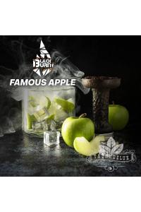 Табак Black Burn Famous apple (Ледяное Яблоко) 100 грамм
